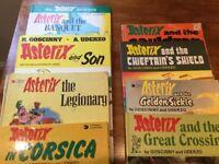 8 Asterix comics: 4 hardback, 4 paperback 📚