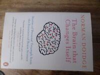 The Brain That Changes Itself- Norman Doidge.