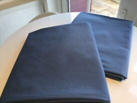 Next Blue Curtains with blackout lining