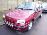 Renault Clio RT 1.4 1997 Mk1 Auto --spares or repair--- MOT Sept 2017**STILL 4 SALE**
