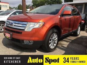 2007 Ford Edge SEL/TOP OF THE LINE/PRICED FOR A QUICK SALE!
