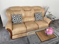 One 3 and 2x one piece sofa set for sale