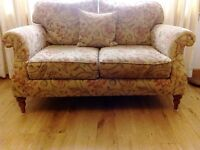 SOFA AND 2 ARMCHAIRS, ALMOST NEW CONDITION, FROM MARTIN AND FROST