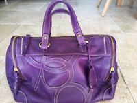 Purification Garcia leather handbag