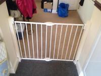 Wide safety gate