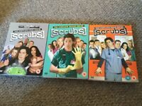 Complete First, Second and Sixth series of Scrubs.