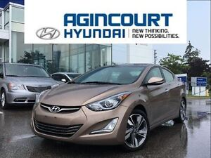 2015 Hyundai Elantra Limited/NAVI/LEATHER/BCAM/ONLY 39169KMS
