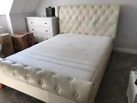 Double bed with memory mattress. Originally cost £2,200