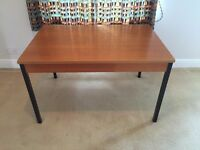 Large wooden desk - good condition