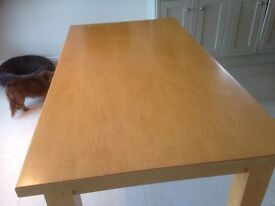Maple Table and Chairs