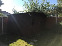 Garden Shed pick up & dismantle