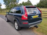 Volvo XC90 Automatic 2.4 diesel family 7-seater full leather n full year mot