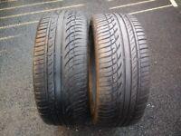 "Matching 205/40/17"" Part Worn Tyres 5.5mm"