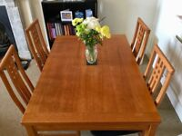 *REDUCED* Extendable dining table and 4 chairs