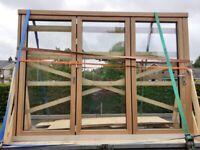 Solarlux Aluclad bifolding door 3m wide - Ex display