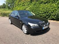 AUTO BMW 530D SE LEATHER SAT NAV XEXONS SERVICE HISTORY MOTED GREAT RUNNER 520d 525d 535d