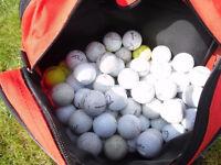 Golf Balls - 100 assorted golf balls in good condition