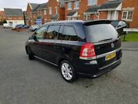 2009 vauxhall zafira 1.9 cdti 150 ELITE automatic x pack full dealer service history