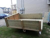 Trailer almost 6' wide X 8' long