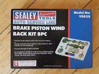 Sealy Brake Piston Wind Back Kit 8PC