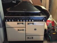 Sold pending pick up Rangemaster Used Elan 110 Dual Fuel Cooker, Cream