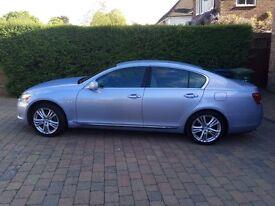 Lexus GS 450 Hybrid Light Blue Silver Colour