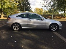 Mercedes Benz C180 Coupe Silver 1.8