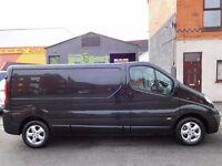 63 plate Vauxhall Vivaro LWB sportive van with full service history finance available & no vat (4)