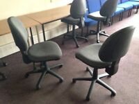 Grey Fabric Office Chairs