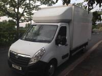 2012 12reg Vauxhall Movano 2.3 CDTI Luton New Shape Barn Doors White