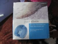 Woolworth foot bath,used only once