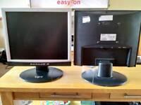 Pair of matching monitors