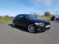 Stunning Low mileage BMW 335D M Sport Coupe in Metallic Black Sapphire