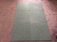 Heuga Commerical Grade Carpet Tiles in Grey x 200
