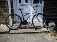 "Mountain, bike,17"" Frame, 26"" Alloy Wheels, Just Been CYCLE SHOP SERVICED."