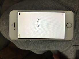 Apple iPhone 5s 64gb unlocked white/silver