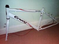 Apollo Bike Frame Envoy Hybrid Sport Lightweight Aluminium and Bike Seat & Post Mountain Racing Road