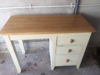 Oak Desk - Dressing Table