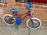 """Kid's bike 16"""" wheels suit 5-8year old"""