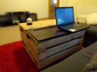 Reclaimed Wood Coffee Table Pallet Style