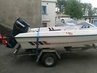 15ft Boat with 75hp outboard motor