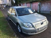 TOYOTA AVENSIS 1.8 VVT-T3-X PETROL MANUAL WITH FULL SERVICE HISTROY