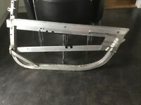SMART CAR TWO COUPE DOOR FRAME, SKIN, TRIM