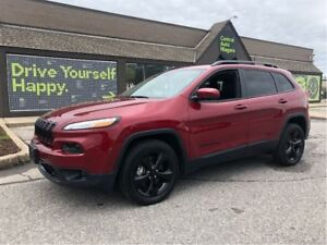 2017 Jeep Cherokee High Altitude / LEATHER / LUXURY GROUP