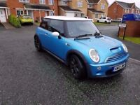 2002 mini cooper S 1.6 supercharged 200 bhp stunning spec and performance