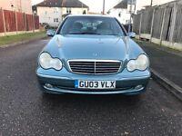 Mercedes BenzC180 Automatic 2003