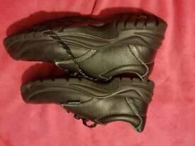 Steel top cap shoes size 11