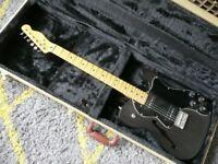 FENDER TELECASTER THINLINE DELUXE electric guitar with tweed deluxe hardcase