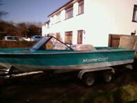 Master craft speedboat