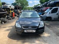2006 Ford Focus LX T 5dr 1.6 Petrol Black BREAKING FOR SPARES